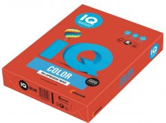 Бумага IQ Color СО44 кораллово-красный А4 80г/м2 500 листов (9003974400877)