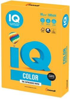 Бумага IQ Color Neon Orange оранжевый А4 80г/м2 500 листов (9003974411880)
