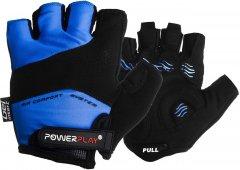 Велоперчатки PowerPlay 5013C M Blue (5013C_M_Blue)