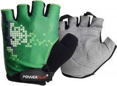 Велоперчатки PowerPlay 002C L Green (002C_L_Green)