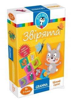 """Настольная игра Granna """"Зверьки"""" (82654) (5900221082654)"""
