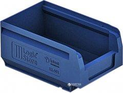 Пластиковый складской лоток iPlast Logic Store 165х100х75 мм Синий (12.401.61)