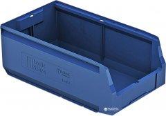 Пластиковый складской лоток iPlast Logic Store 400х225х150 мм Синий (12.414.61)