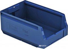 Пластиковый складской лоток iPlast Logic Store 350х225х150 мм Синий (12.403.61)