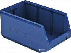 Пластиковый складской лоток iPlast Logic Store 500х300х250 мм Синий (12.407.61)