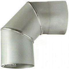 Дымоход Canada 90° ø120 мм нержавеющая сталь 0.6 мм (120КО90М304-06)