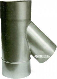 Дымоход Canada 45° ø120 мм нержавеющая сталь 1 мм (120ТК45М304-1)