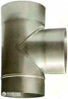 Дымоход Canada 87° ø120 мм нержавеющая сталь 1 мм (120ТК87М304-1)