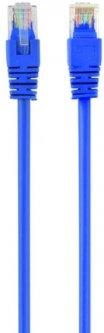 Патч корд Cablexpert CAT5e UTP 0.25 м Голубой (PP12-0.25M/B)