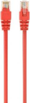 Патч корд Cablexpert CAT5e UTP 1 м Красный (PP12-1M/R)