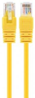 Патч корд Cablexpert CAT5e UTP 0.25 м Желтый (PP12-0.25M/Y)