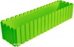 Вазон Plastkon Fency прямоугольный 74.5х18.5х16.9 см Салатовый (8595096951746)