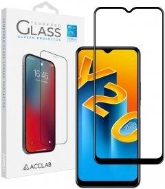 Защитное стекло ACCLAB Full Glue для Vivo Y20/Y20i Black (1283126509001)