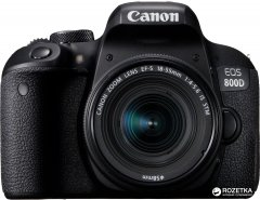 Фотоаппарат Canon EOS 800D 18-55mm IS STM Black (1895C019) Официальная гарантия!