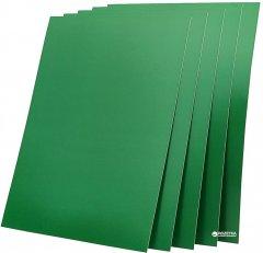 "Обложка для брошюрования картонная bindMARK Капитал A4 250 мкм ""глянец"" 100 шт Зеленая (20000416050)"
