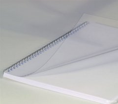 """Обложка для брошюрования пластиковая bindMARK Кристал A3 180 мкм """"прозрачая"""" 100 шт Прозрачная (20000401960)"""