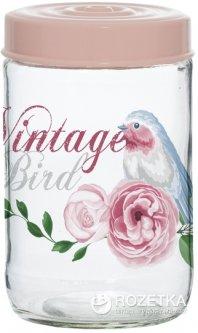 Банка для хранения продуктов Herevin Vintage Birds 660 мл (171441-050)