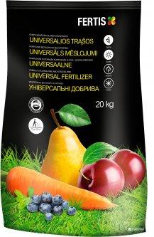 Универсальное удобрение Fertis без хлора и нитратов 20 кг (10508717) 4779039690785