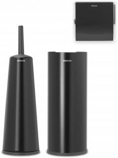 Набор аксессуаров BRABANTIA Renew из 3-х предметов черный матовый (280603)