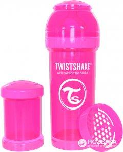 Антиколиковая бутылочка Twistshake 260 мл Розовая (7350083120076)