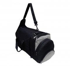 Рюкзак-сумка Kodor Трансформер Черная (К0077Трансформер Чорна)
