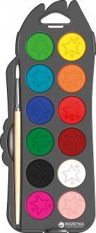 Краски акварельные Maped Color Peps 12 цветов + кисточка (MP.811520)