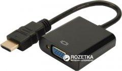 Адаптер Digitus HDMI-VGA (DA-70461)