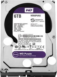 Жесткий диск Western Digital Purple 6TB 64MB 5400rpm WD60PURZ 3.5 SATA III