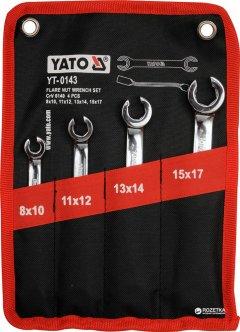 Набор комбинированных ключей Yato 8-17 мм 4 предмета (YT-0143)