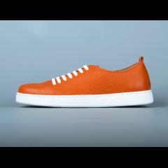 Кеды KARABADGAK Heath оранжевые, шнурки силиконовые 42