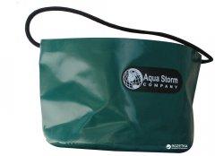 Ведро ПВХ Aqua-Storm большое 13 л Зеленое (AS3067)