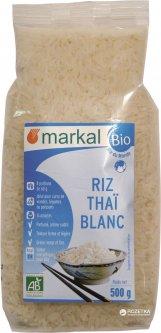 Рис Markal органический белый длиннозерный тайский 500 г (3329485531203)