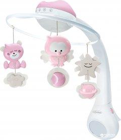 Музыкальный мобиль Infantino 3 в 1 с проектором Розовый (004914I)