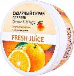 Сахарный скраб для тела Fresh Juice Orange & Mango 225 мл (4823015925771)
