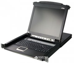 KVM-переключатель ATEN CL5716M-ATA-RG 16-портовый PS/2-USB