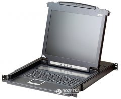 KVM-консоль ATEN CL1000M-ATA-RG 1-портовая PS/2