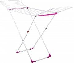 Сушка для белья с дополнительными отделениями Eurogold Stabilo + Pink