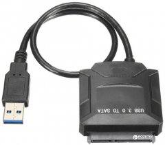"Адаптер Value USB3.0 - SATA III 2.5""/3.5"" 7+15pin c блоком питания (S0746)"