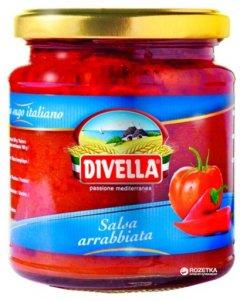 Соус Divella Salsa Arrabbiata 340 г (8005121210989)