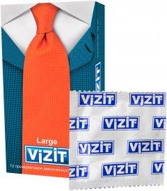 Презервативы Vizit Large 12 шт (4601834004248)