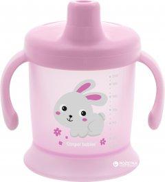 Кружка-непроливайка Canpol Babies Bunny&Company 200 мл Розовая (31/300 Розовый)
