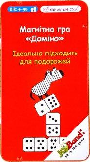 Магнитная дорожная игра JoyBand Домино (353) (7290011890353)