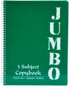 Блокнот Mintra Jumbo A4 в клетку 90 листов Темно-зеленый (982162)