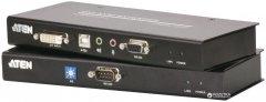 KVM-удлинитель ATEN CE600 по кабелю Cat 5 USB (CE600-A7-G)