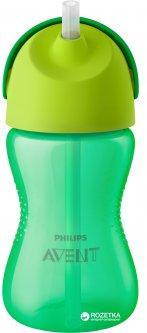 Чашка с трубочкой Philips AVENT 300 мл 12 мес+ Зеленая (SCF798/01)