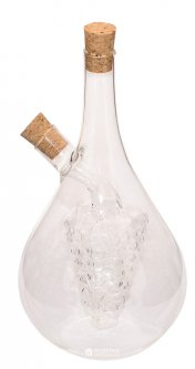 Бутылка для масла и уксуса 2 в 1 Fissman 50 / 500 мл (OV-9441.500)