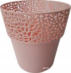 Вазон Lamela Росса круглый 14.5 см Розовая пудра (657-67)