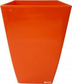 Вазон Lamela Финезия квадратный 12.5 см Оранжевый (377-40)