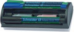 Набор маркеров для досок и флипчартов 4 шт Schneider Maxx 110 1-3 мм Цветные (S111098)