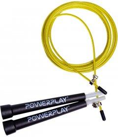 Скакалка скоростная PowerPlay 4202 Yellow (PP_4202_Yellow)